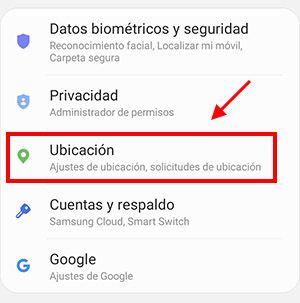 activar la ubicacion en android