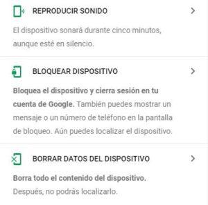 localizar un celular con google